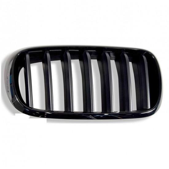 Решітка радіатора права M Performance для BMW X5 (F15) та X6 (F16), артикул 51712334710