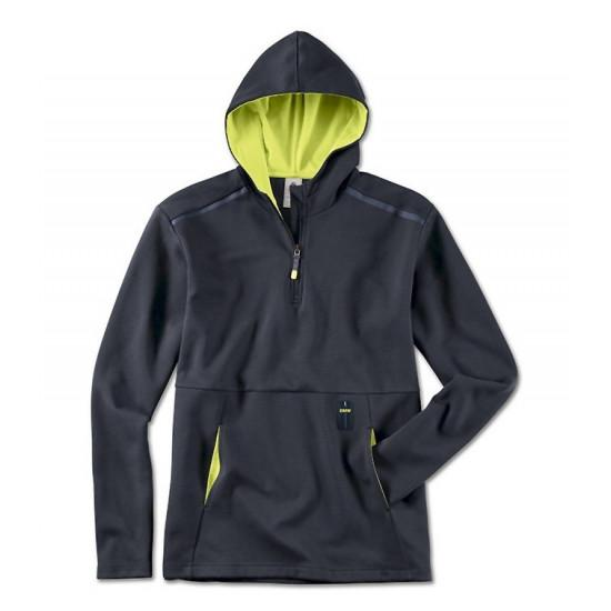 Мужская толстовка BMW Active Sweatshirt, Men, Blue Nights / Wild Lime, 80142460983