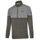 Светр для гольфу чоловічий,чорний / сірий, B66450502