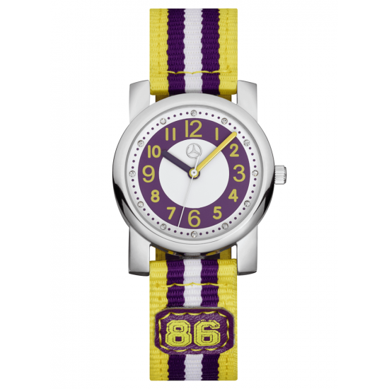 Детские наручные часы Mercedes-Benz Boys 'Watch Purple Yellow, B66958448