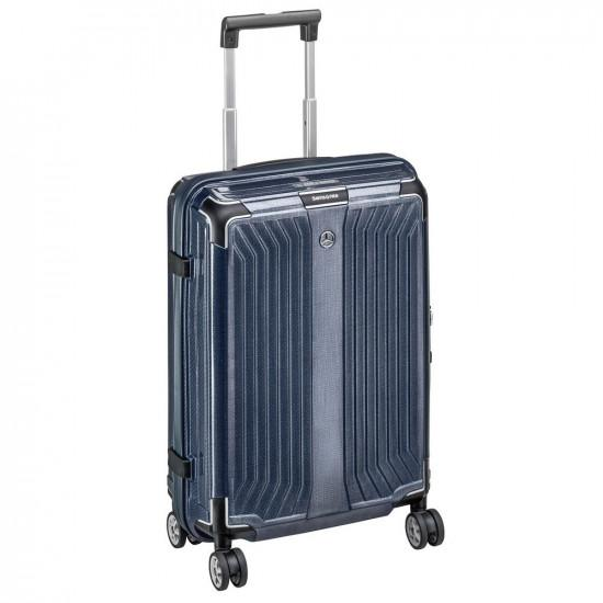 Чемодан Mercedes-Benz Suitcase, Lite Cube, Spinner 75, Denim Blue, від Samsonite, B66958485