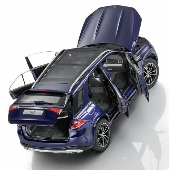 Колекційна масштабна модель Mercedes-Benz GLE (серія V167), Brilliant Синій, масштабі 1:18, B66960554