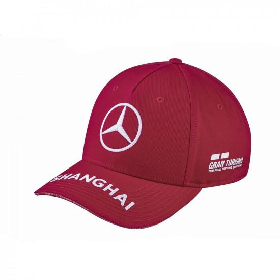 Бейсболка Mercedes F1 Cap Lewis Hamilton, Special Edition China 2019, червоний, B67996280