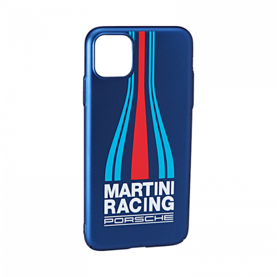 Чохол пластиковий Porsche для iPhone 11 Pro Max, MARTINI RACING, синій, WAP0300040L0MR
