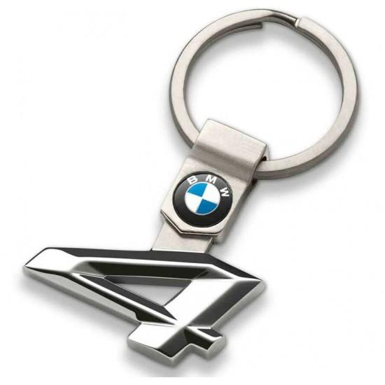 Брелок для ключів BMW 4 Series Key Ring, Silver (80272454650)